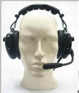 Dual Muff Radio Headset